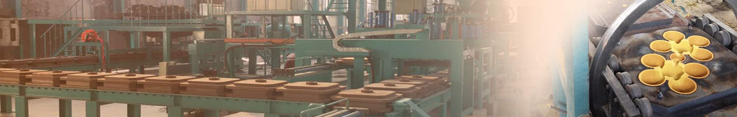 automatic casting grinding ball molding line