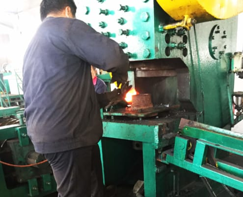 ball mill steel ball production line