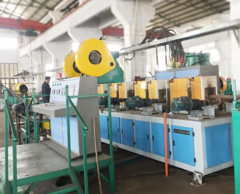 forged steel ball making line