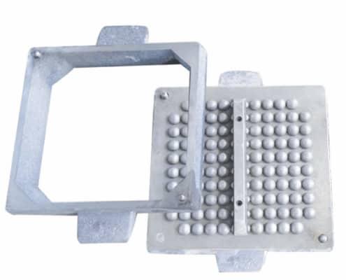 sandbox cast iron die to produce steel balls