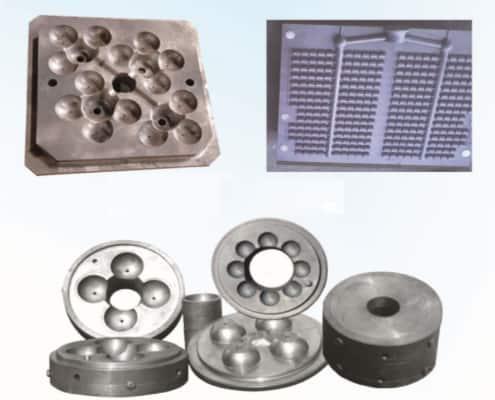 grinding ball cast iron metal mold
