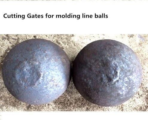 casting grinding media balls