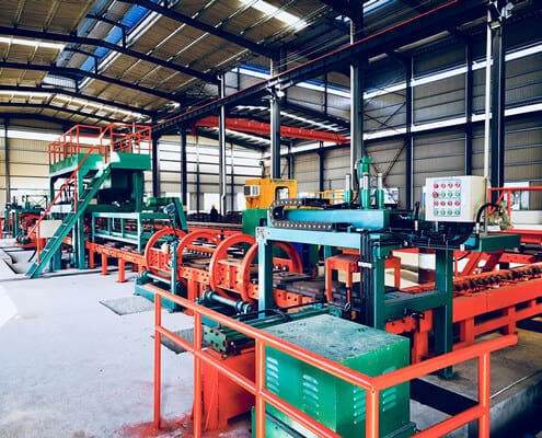 mill ball production line