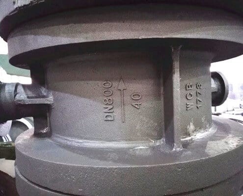 pipe connecting valves