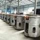 aluminum shell type induction furnace