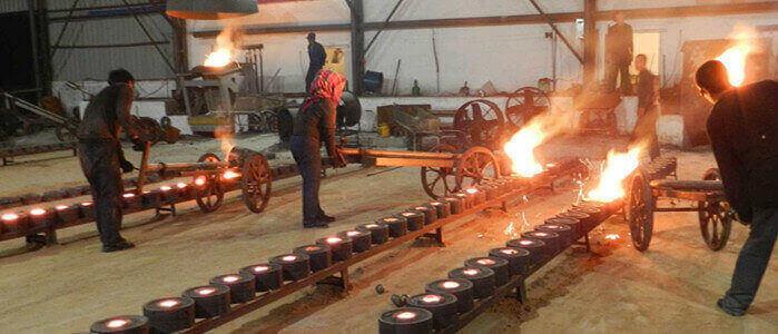 making grinding media ball
