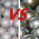 Gast grining ball vs forged steel ball