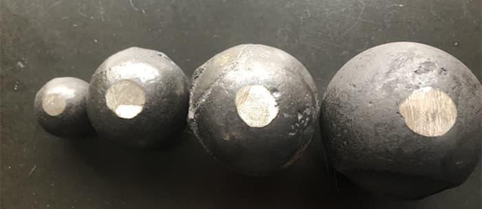 hardness of grinding ball