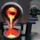 molten iron melting induction furnace