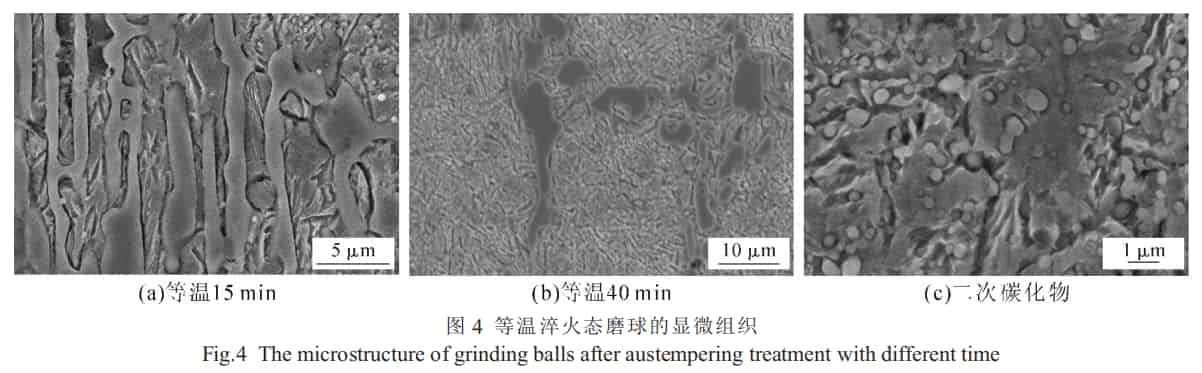 microstructure of grinding media