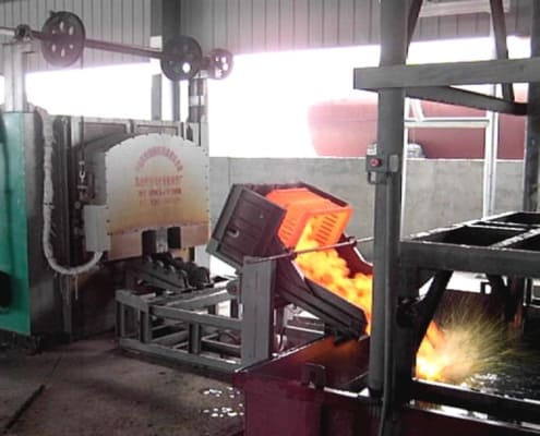 oil quenching process