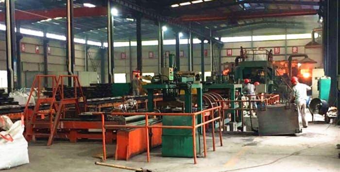grinding balls casting line
