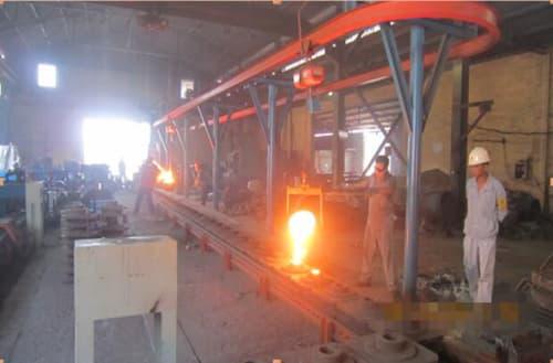 semi-automatic production line_